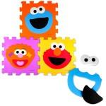Sesame Street foam puzzle matts