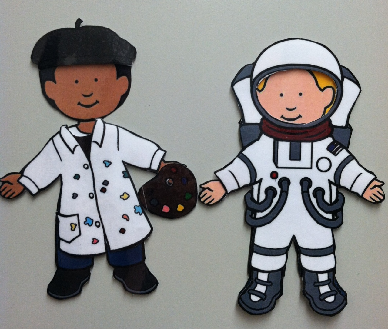 Pattern for Preschool Art Astronaut (page 4) - Pics about ...
